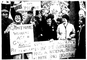 The solidarity of women in the miners' strike had the potential to begin to break down the traditional sectionalism of the trade unions.