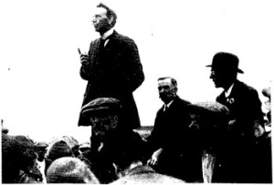 Scottish Miners leader Robert Smillie, who as president of the Miners Federation in 1914 promoted the 'Triple Alliance' of Miners, Railwaymen and Transport Workers.